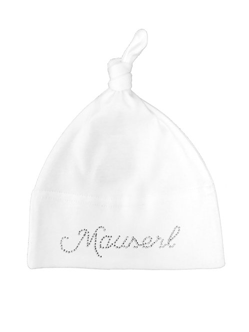 """Babymütze """"MAUSERL"""" in 3 Mützenfarben"""