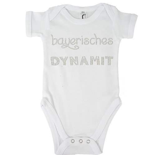 "Babybody ""BAYERISCHES DYN"" in 5 Bodyfarben"