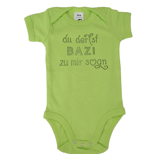 """Babybody """"DU DERFST BAZI ZU MIR SOGN"""" in 5 Bodyf."""