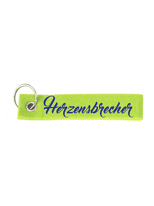 HERZENSBRECHER Schlüsselanhänger - Filz Schlüsselbänder