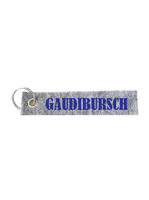 GAUDIBURSCH Schlüsselanhänger - Filz Schlüsselbänder