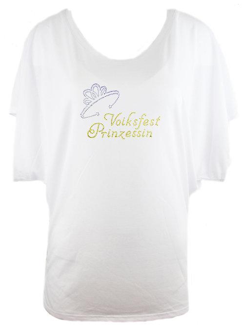 VOLKSFEST PRINZESSIN Trachtenshirt Fun Shirt