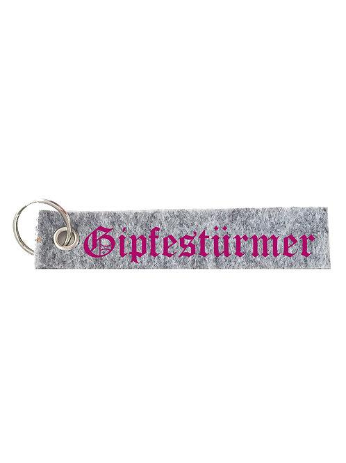 GIPFESTÜRMER Schlüsselanhänger - Filz Schlüsselbänder