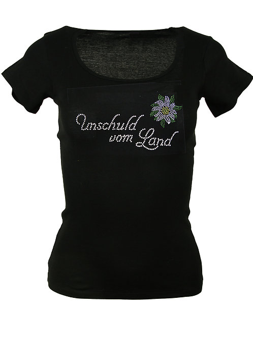 UNSCHULD VOM LAND Trachtenshirt Fun Shirt