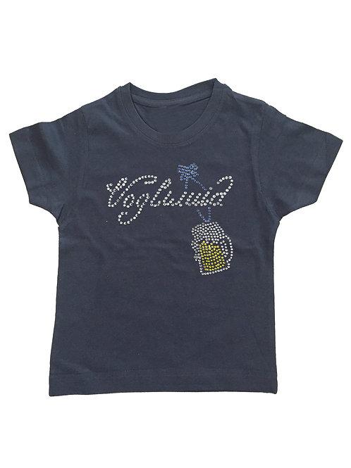 """Kinder Trachtenshirt """"VOGLWUID"""" in 5 Shirtfarben"""