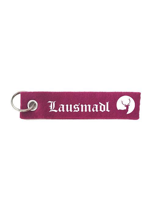 LAUSMADL Schlüsselanhänger - Filz Schlüsselbänder