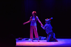 Morritz y el diminuto Mons y de cómo cerró la Muestra Estatal de Teatro Tabasco 2018