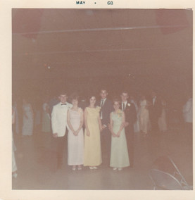 PTHS May 24 1968 Prom Larry Collins Becky Lankton Libby Medley Ronnie Boswell Sharon Hines Eddie Pemberton