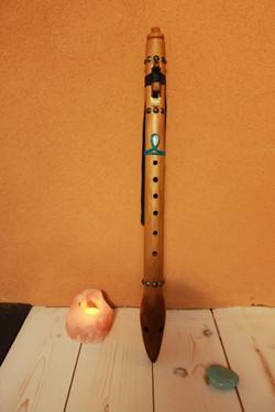 flûte Amérindienne en Fa # 432 hz