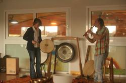 l'harmonie du tambour et de la flûte