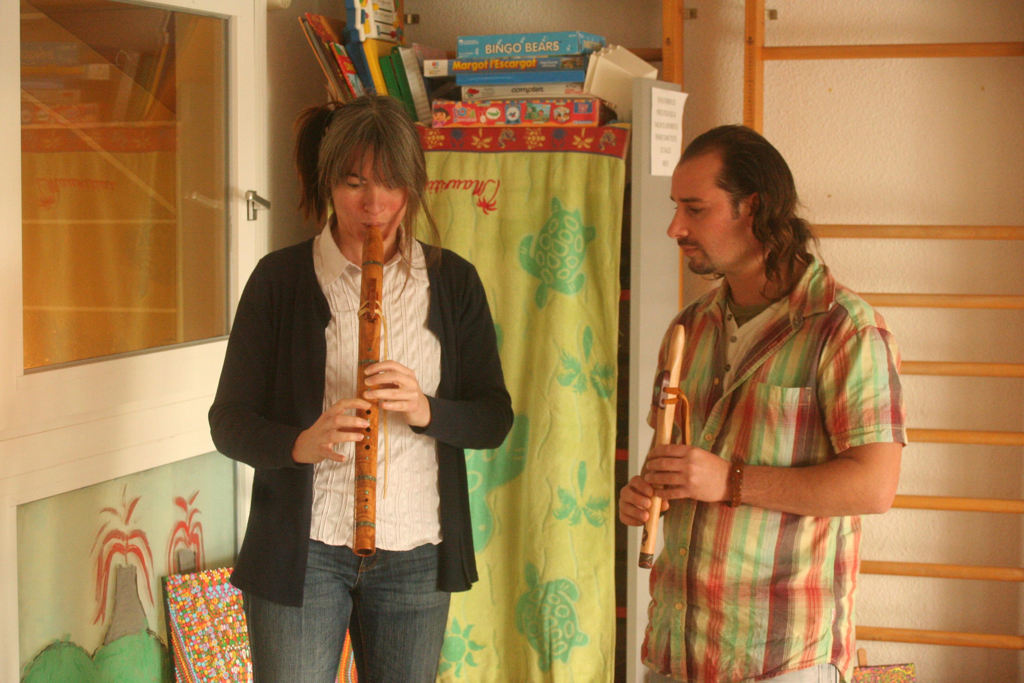 découverte de la flûte amérindienne
