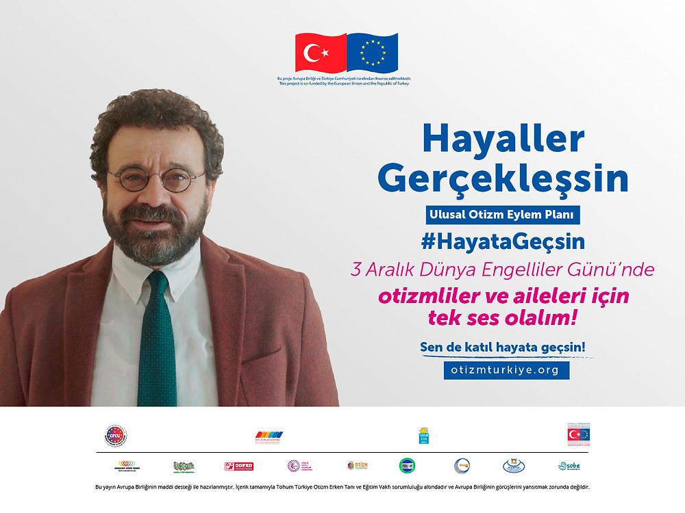 """""""Türkiye Otizm Ağı Güçlendirme Projesi"""" kapsamında herkes otizmli bireylerin ve ailelerinin sesi olmaya davet ediliyor!"""