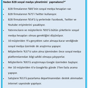 B2B Pazarlamada Sosyal Medyayı Kullanın