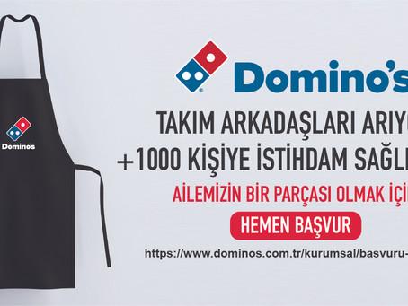 Domino's 1000 kişiyi işe alacak