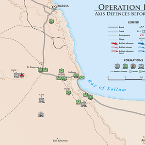 Maps of the Operation Brevity