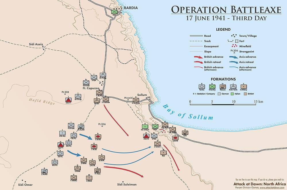 Operation Battleaxe - Third Day