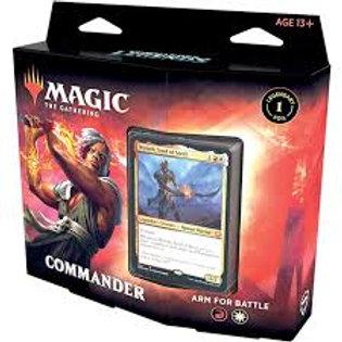 MTG Commander Legends :  Arm for Battle (Red - White)