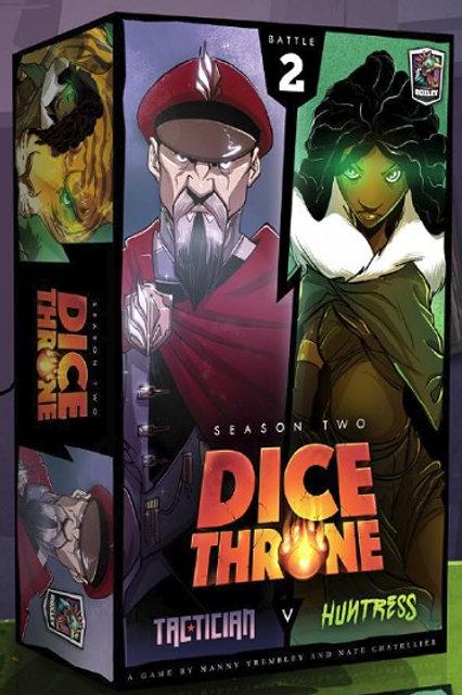 Dice Thrones - Seasons Two - Tactician v Huntress