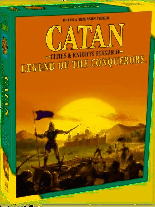 Catan - Cities and Knights Scenario - Legend of The Conquerors