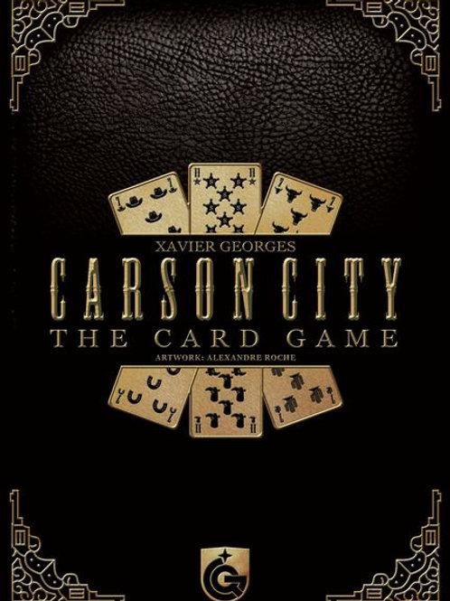 Carson City The Card Game (Bilingue)