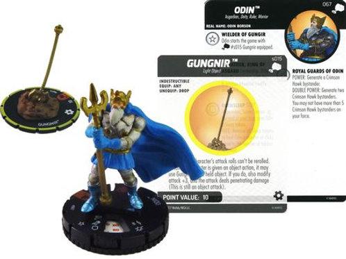 Odin with Gungnir #067