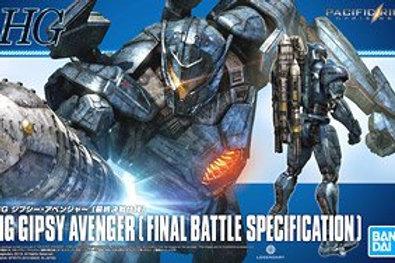 HG Gipsy Avenger (Final Battle Specification)- Pacific Rim - Gunpla