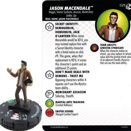 Jason Macendale #029