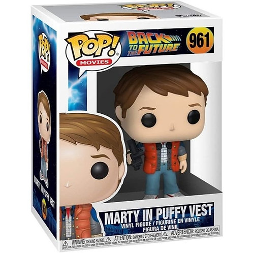 Marty In Puffy Vest - Funko Pop 961 Back To The Future
