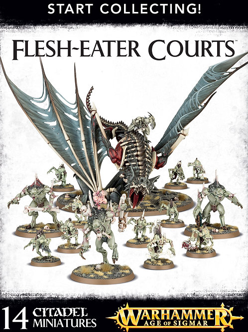 Start Collecting - Flesh-Eater Courts