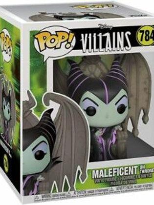 Maleficient On Throne - Funko Pop 784 Disney Villains