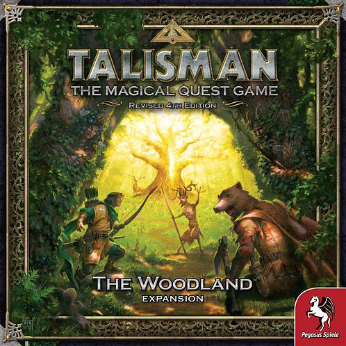 Talisman, The magical Quest Game Revised 4th Edition, The Woodland Expansion
