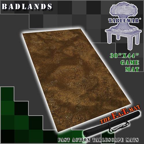 """Badlands - 30"""" x 44"""" - Fat Mat"""