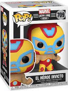 El Héroe Invincto  - Funko Pop 709 Marvel Lucha Libre