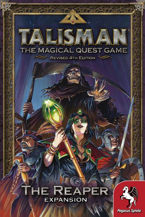 Talisman, The magical Quest Game Revised 4th Edition, The Reaper Expansion