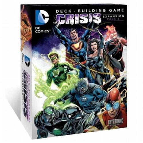 DC Comics Deck-Building Game -Crisis Extension Pack 3