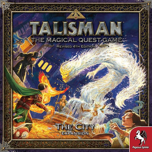 Talisman, The magical Quest Game Revised 4th Edition, The City Expansion