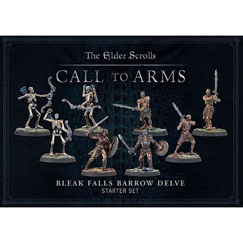 The Elder Scroll, Call to Arms Plastic  Bleak Falls Barrow Delve Set