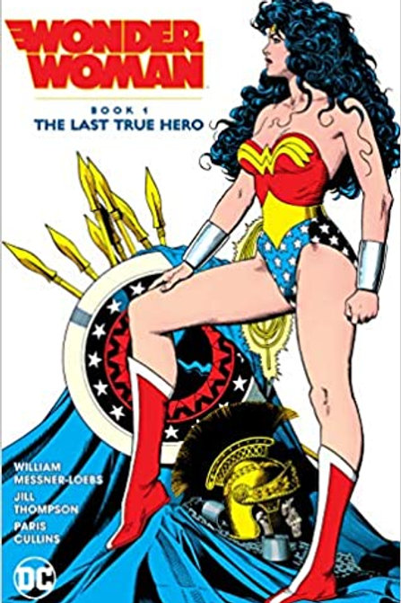 Wonder Woman Book 1: The Last True Hero - Trade Paperback