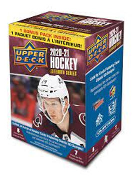2020-21 Upper Deck Extended Hockey Blaster Box