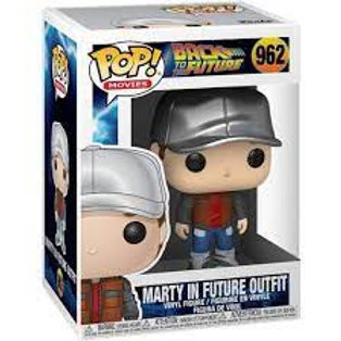 Marty In Future Outfit - Funko Pop 962 Back To The Future