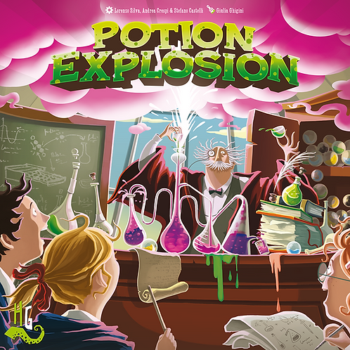 Potion Explosion, 2nd Edition (ENG)