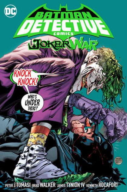 Batman: Detective Comics Vol. 5: The Joker War - Hard Cover