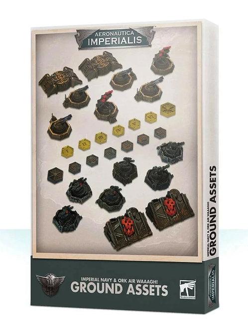 Ground Assets - Aeronautica Imperialis: Imperial Navy & Ork Air Waaagh!