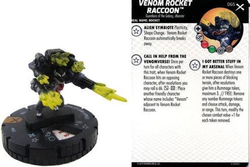 Venom Rocket Raccoon#065