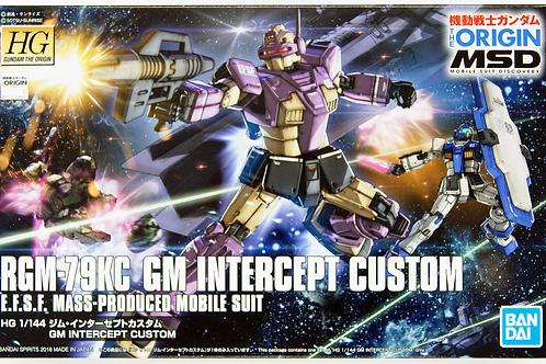 RGM-76KC GM Intercept Custom- Gunpla