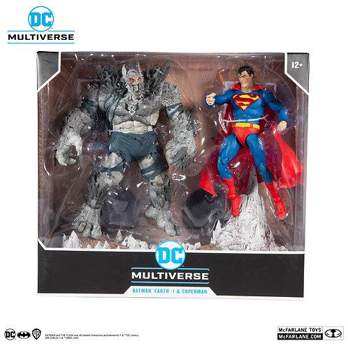 Batman Earth -1 & Superman - DC Multiverse, McFarlane Toys