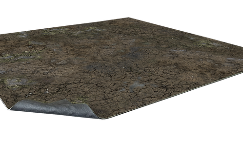 Muddy Streets Gaming Mat 3x3 - Battle Systems