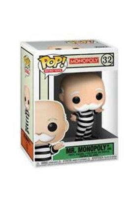 Mr. Monopoly In Jail - Funko Pop 32 Monopoly
