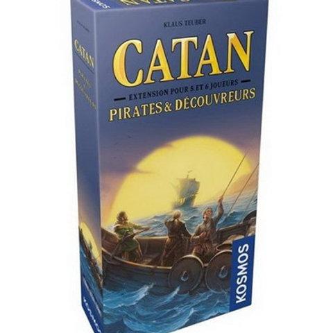 Catan - Pirate et Découvreurs - Extension pour 5 et 6 joueurs