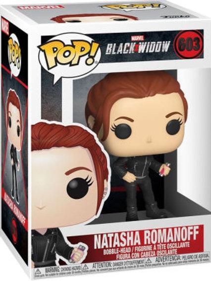 Natasha Romanoff - Funko Pop 603 Marvel Black Widow